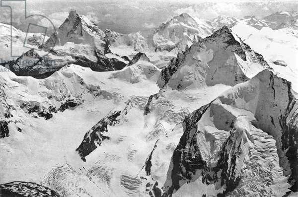 Mount Cervin, c.1900 (b/w photo)