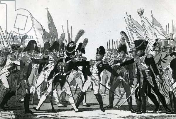 The End of Napoleon as Emperor (engraving)