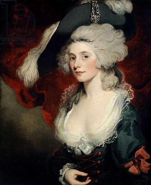 Mary Robinson (1758-1810) as 'Perdita' (oil on canvas)