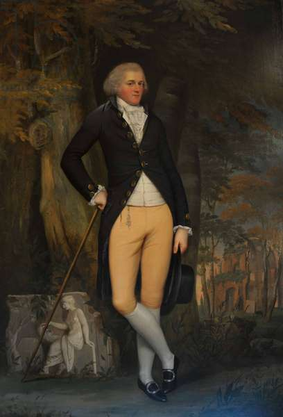 Edward Austen Knight (1768-1852) at the time of his Grand Tour (oil on canvas)