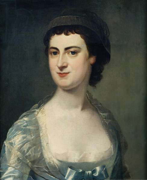 Mrs Mary Knowles (1733-1807) (oil on canvas)
