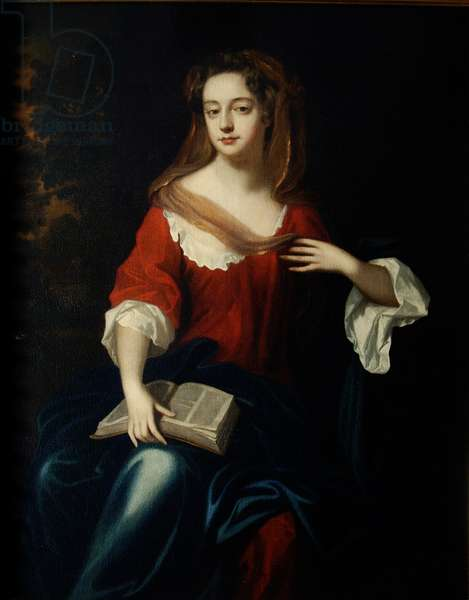 Frances (c.1665-1722) Countess of Scarborough (oil on canvas)