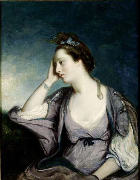 Catherine Maria 'Kitty' Fisher (d.1767) (oil on canvas)