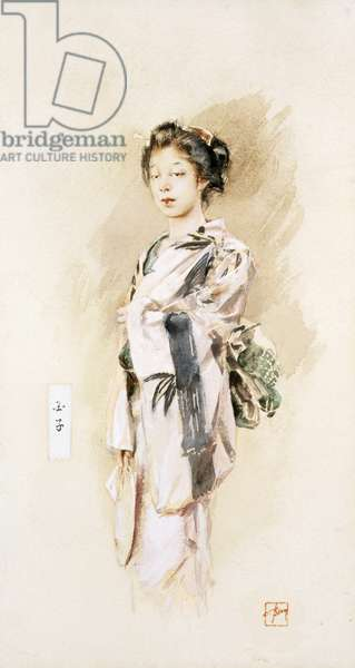 A Geisha, or Tamako, 1893 (w/c on paper)