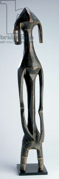 Human figure, Mumuye Culture, Benue River Valley (wood)