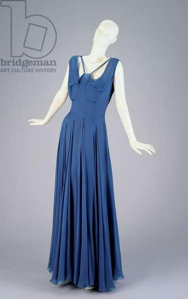 Dress and slip, 1935 (silk)