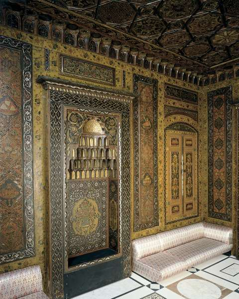 Period room from Damascus, Syria, 1711-12 (photo)