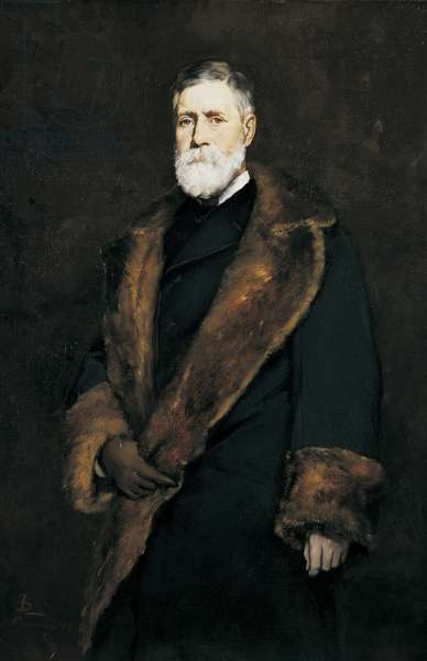 Francis Boott, 1881 (oil on canvas)