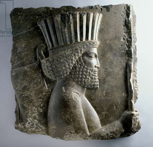Persian guard, reign of Xerxes (486-65 BC), c.480 BC (limestone)