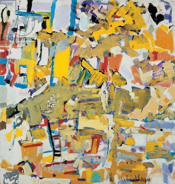Boogie Woogie, 1980 (oil on canvas)