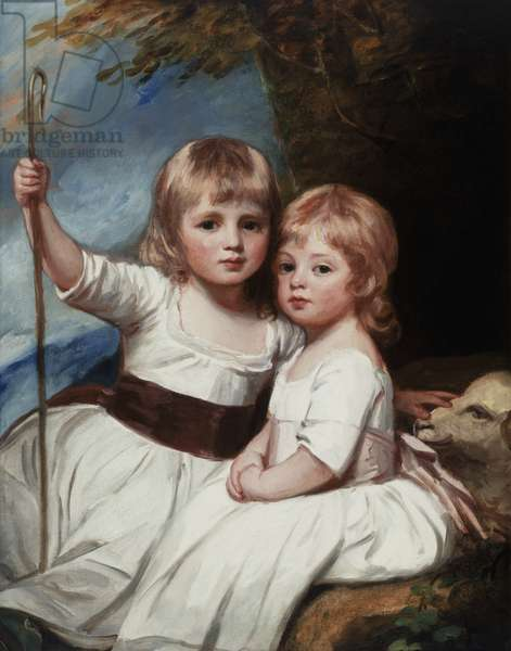 Mary and Louise Kent, c.1784-84 (oil on canvas)