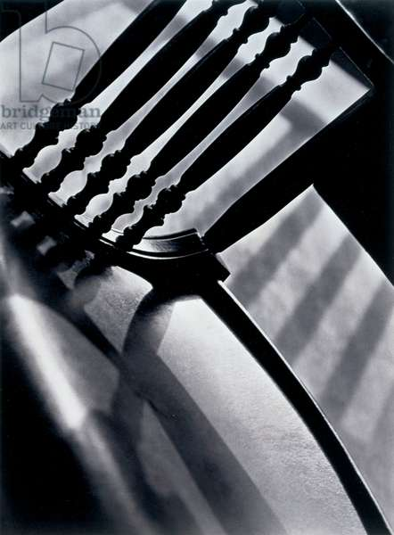 Chair Abstraction, c.1930 (gelatin silver print)