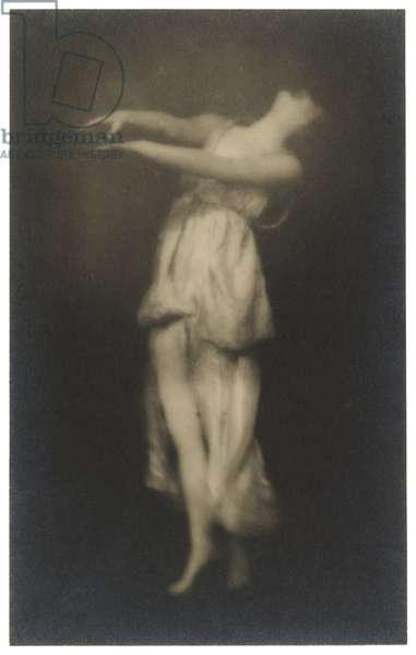 Irma Duncan, Isadora Duncan Dancer, c.1916 (gelatin silver print)