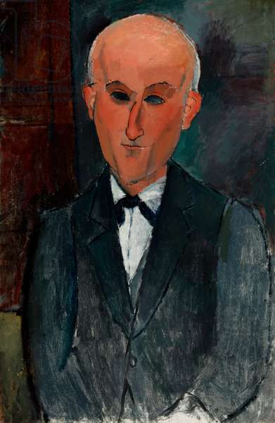 Max Jacob, c.1916-17 (oil on canvas)