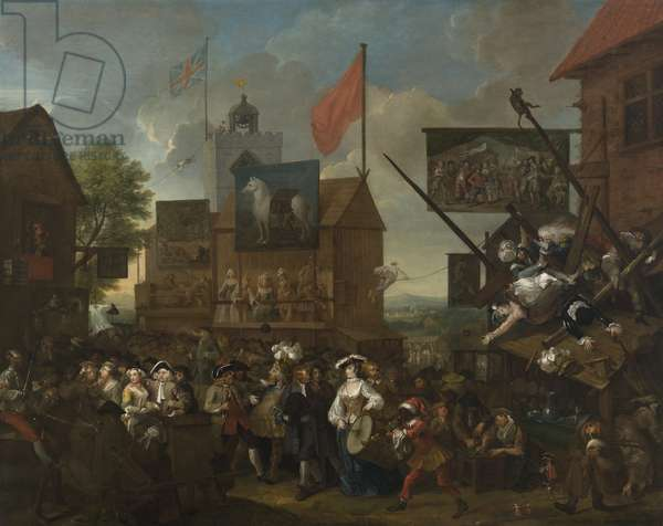 Southwark Fair, 1733 (oil on canvas)