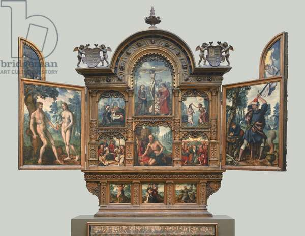 Altarpiece with scenes from the Old and New Testaments (the Tendila Retablo)