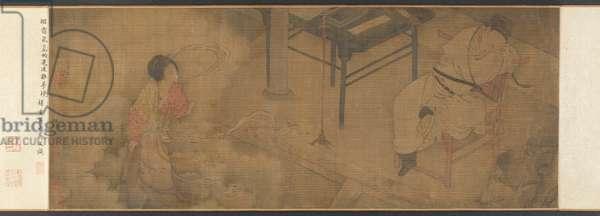 Szu-Ma Ts'ai-Chung's Dream of the Courtesan, Su Hsiao-Hsiao (ink & colours on silk)