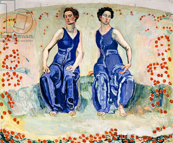 The Sacred Hour, c.1907-11 (oil on canvas)