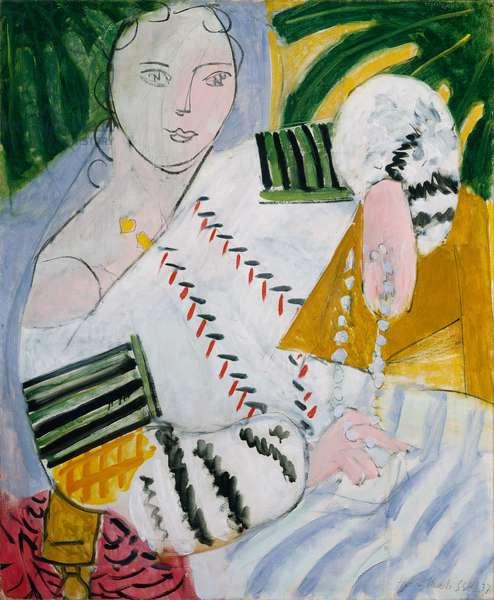 Romanian Blouse, 1937 (oil on canvas)
