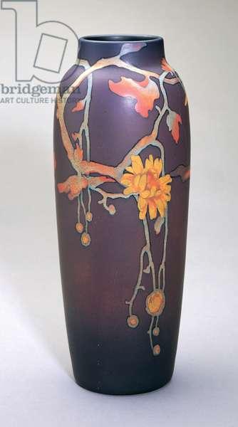 Vase, Rookwood Pottery Co., 1906 (earthenware)