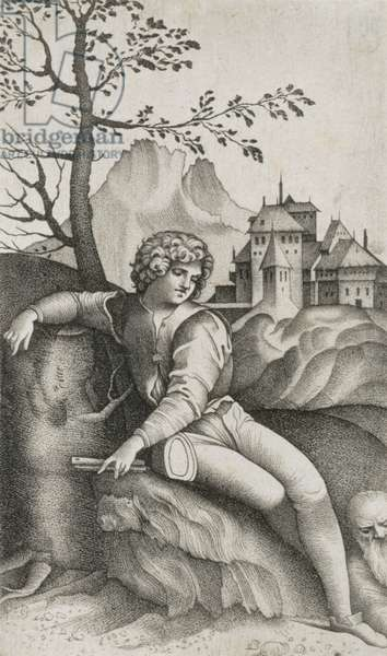 The Young Shepherd (engraving)
