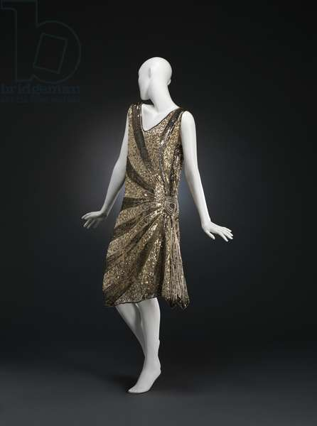 Evening Dress, 1925-28 (silk, sequins & glass beads)