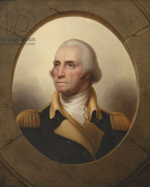 George Washington, c.1845 (oil on canvas)
