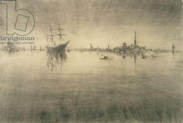 Nocturne, 1879-80 (etching & drypoint)