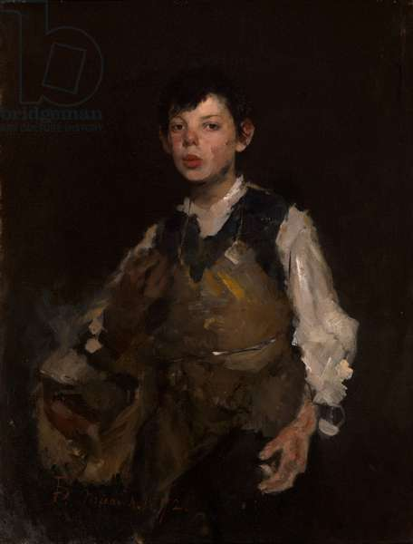The Whistling Boy, 1902 (oil on canvas)