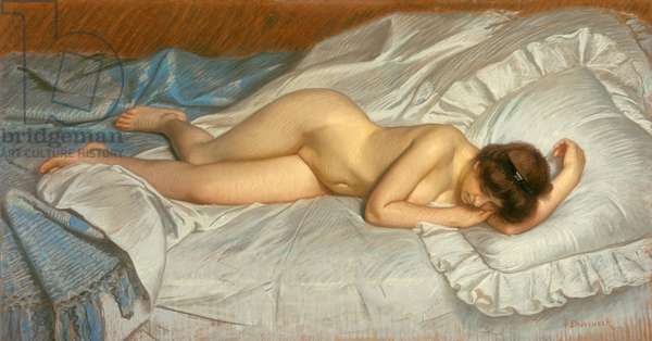 Siesta or Foucar's Nude, 1900 (pastel on paper)