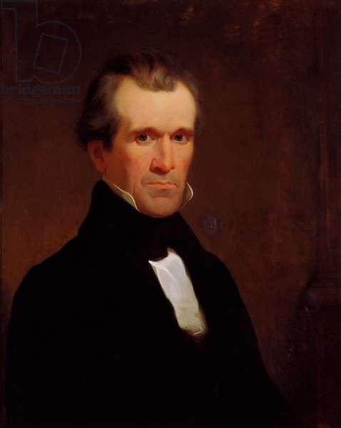 James K. Polk, c.1840 (oil on canvas)