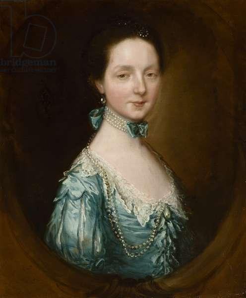 Miss Fitzpatrick, c.1760s-70s (oil on canvas)