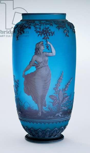 Vase, 1878-87 (cameo glass)
