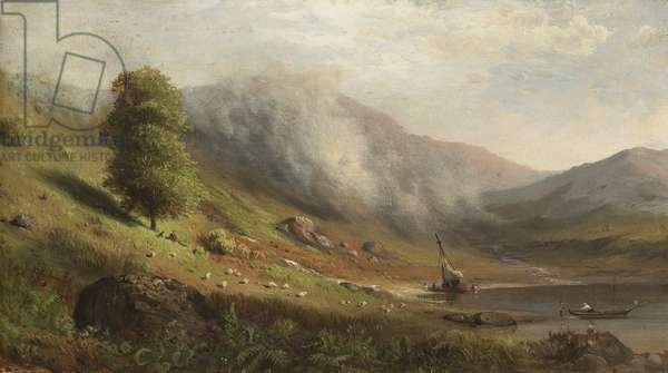 Rising Mist, 1867 (oil on canvas)