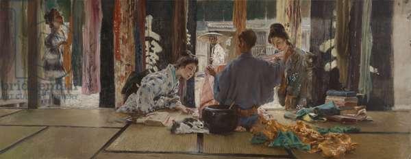 The Silk Merchant, 1892 (oil on canvas)