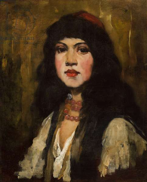 Venetian Girl, 1880 (oil on canvas)
