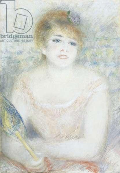 Mlle. Jeanne Samary, c.1878 (pastel)