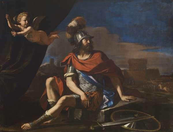 Mars with Cupid, 1649 (oil on canvas)