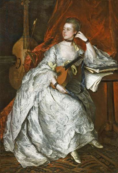 Ann Ford (later Mrs Philip Thicknesse), 1760 (oil on canvas)