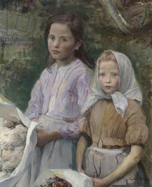Grandfather's Birthday (La fête de grand-père), c.1897 (oil on canvas)