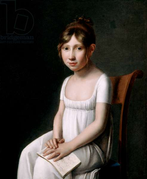 Portrait of a Young Lady Distracted from Her Music Lesson, 1801 (oil on canvas)