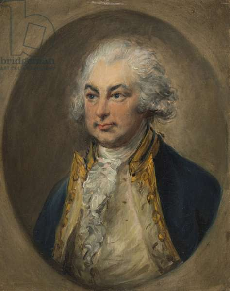 Constantine, 2nd Baron Mulgrave, mid 1780s (oil on paper)
