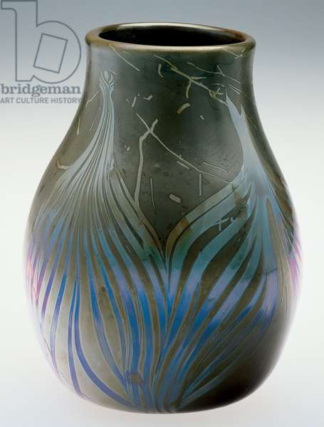 Vase, 1892-97 (glass)