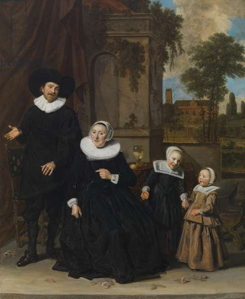 Family portrait, mid-1630s (oil on canvas)
