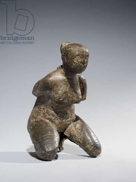 Kneeling Nude, 1945 (bronze)