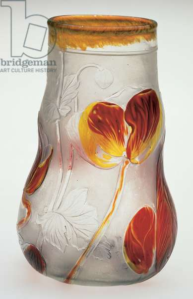 Vase, 1892-97 (cameo glass)