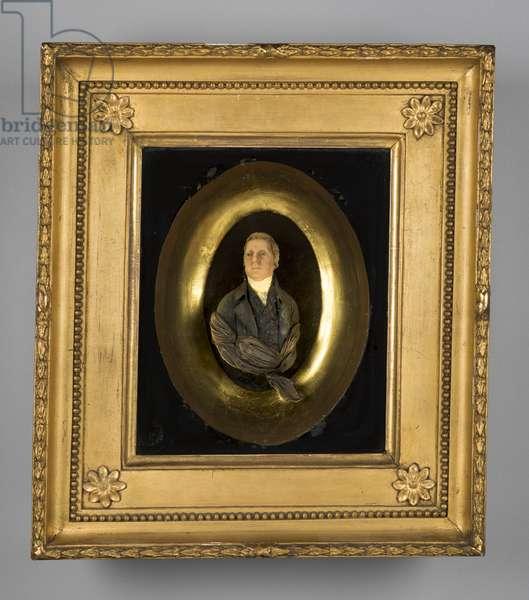 John Heath Stubbs of Monmouthshire (modelled wax)