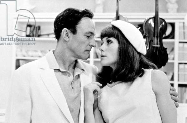 The Young Girls of Rochefort by Jacques Demy avec Gene Kelly, Francoise Dorleac, 1967 beret