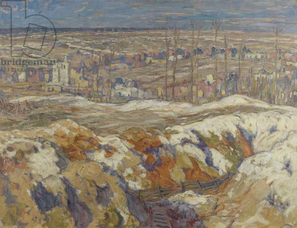 Angres, 1918 (oil on canvas)