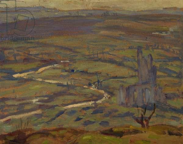 Ablain Saint-Nazaire (II), 1918 (oil on board)
